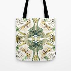Green Moth Tote Bag