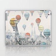 Voyages Over Edinburgh Laptop & iPad Skin
