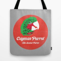 Cayman Parrot Tote Bag