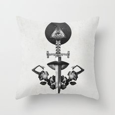 Drawing Down the Moon Throw Pillow