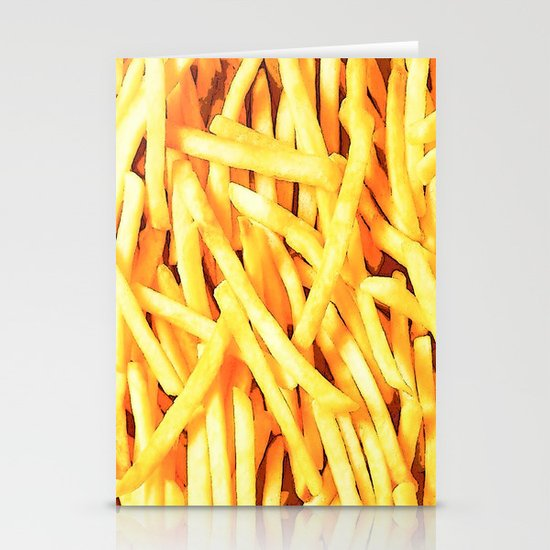 FRENCH FRIES for IPhone Stationery Card