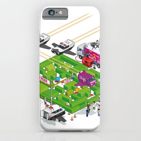 PACMAN crime scene iPhone & iPod Case