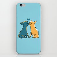 Chihuahua Kisses iPhone & iPod Skin