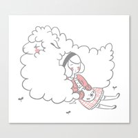 Sleeping Creatures Canvas Print
