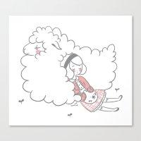 Sleeping creatures Canvas Print