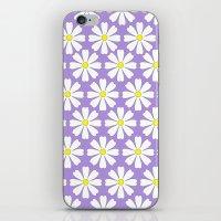 Lilac daisies iPhone & iPod Skin