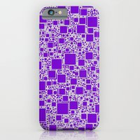 Boxes Purple iPhone 6 Slim Case