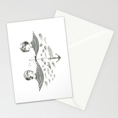 Twins 1 Stationery Cards