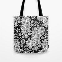 Daisy Mono Pop Tote Bag