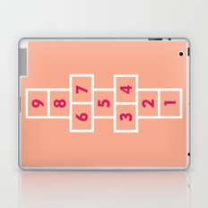 Hopscotch Pink Laptop & iPad Skin