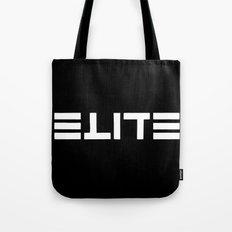 ELITE - Ambigram series (Black) Tote Bag