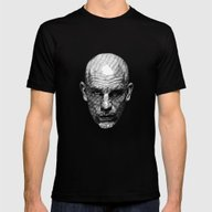 John Mens Fitted Tee Black SMALL