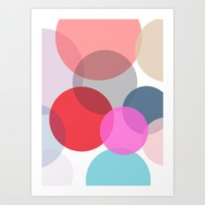 Pop Dots Art Print