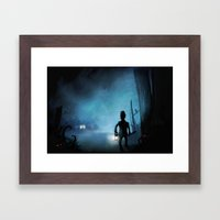 Item Nine Framed Art Print