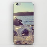 Dock Days iPhone & iPod Skin