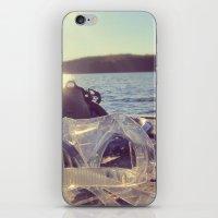 dock days iPhone & iPod Skin