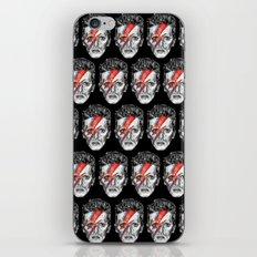 Bowie Head Pattern iPhone & iPod Skin