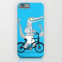 iPhone & iPod Case featuring The Crococycle by Oliver Lake