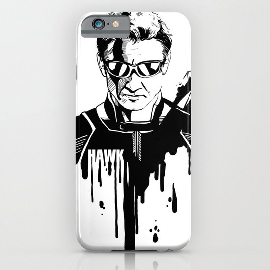 Avengers in Ink: Hawkeye iPhone & iPod Case