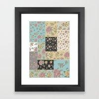Mantón de Colores Framed Art Print
