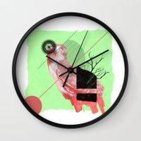 Natural Living Wall Clock