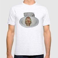 infanticidio Mens Fitted Tee Ash Grey SMALL