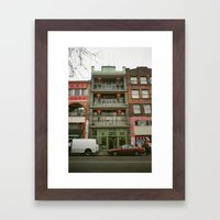 Chinese B.A. Building 19… Framed Art Print