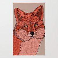 The Fox  Rug