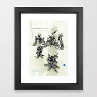 MOTHERFRAME Framed Art Print