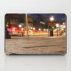 Downtown Blacksburg Christmas iPad Case