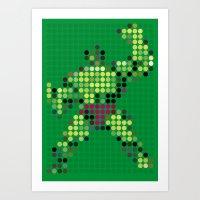 Mr Green 1 Art Print
