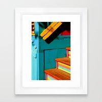 candy steps  Framed Art Print