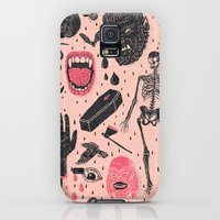 Galaxy S5 Cases featuring Whole Lotta Horror by Josh Ln