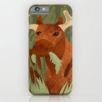 iPhone & iPod Case featuring Moose Munch by Elizabeth Kidder