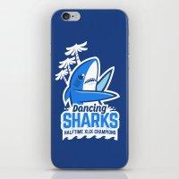 Dancing Sharks iPhone & iPod Skin