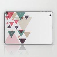 Triângulos Ligados Laptop & iPad Skin