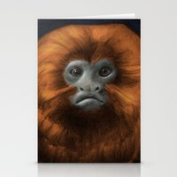 Golden Lion Tamarin Stationery Cards