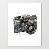 Take A Picture ! Canvas Print