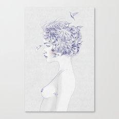 Dahlia Canvas Print