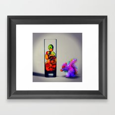 MixMotion: Squirrel Sours Framed Art Print