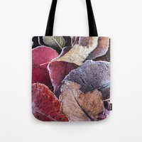 Frosty Ground Cover Tote Bag