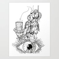 Dimensions of Anger  Art Print