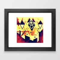 The Heights Framed Art Print