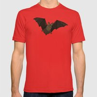Batty Mens Fitted Tee Red SMALL