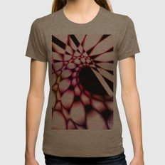 Curve Womens Fitted Tee Tri-Coffee SMALL