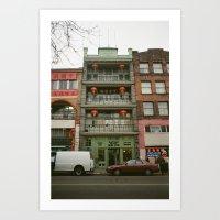 Chinese B.A. Building 19… Art Print