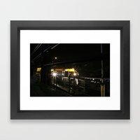 Come On Board Framed Art Print