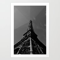 Colliding times Art Print