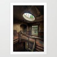 Potters Manor Art Print
