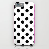 Pink and dots iPhone 6 Slim Case